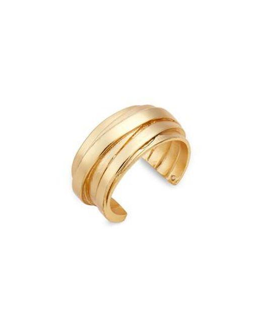 Karine Sultan   Metallic Angelique Adjustable Ring   Lyst
