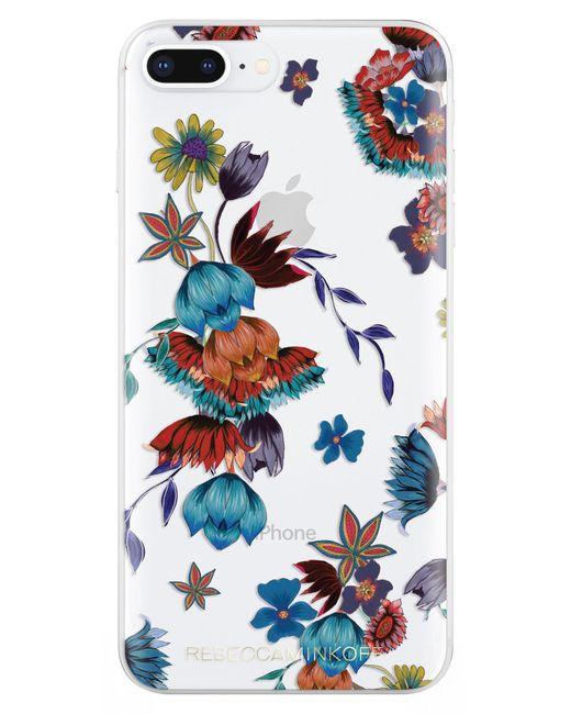 Rebecca Minkoff - Blue Punk Floral Iphone 7/8 & 7/8 Plus Case - - Lyst