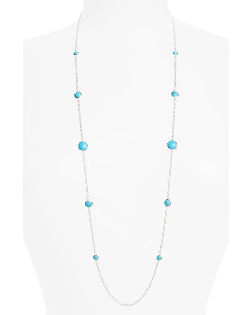 Ippolita - Blue 'rock Candy - Lollipop' Long Necklace - Lyst