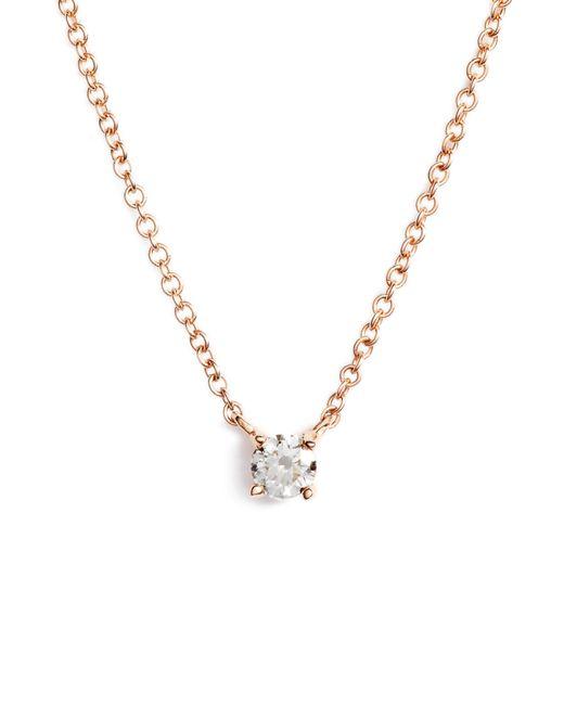 Bony Levy - Metallic Liora Diamond Solitaire Pendant Necklace (nordstrom Exclusive) - Lyst