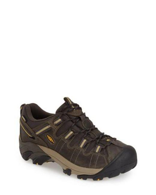 Keen | Brown 'targhee Ii' Waterproof Hiking Shoe for Men | Lyst