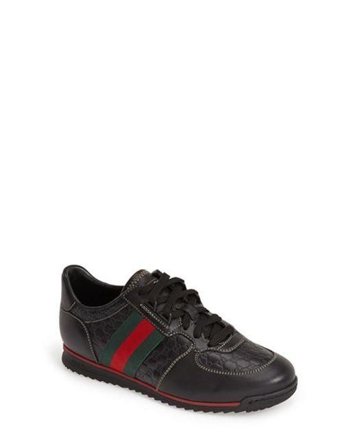 Gucci | Black Sport Sneaker | Lyst