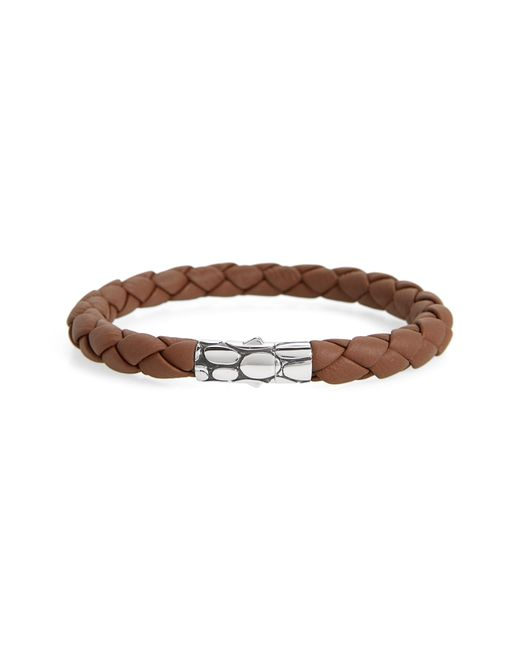 John Hardy - Brown 'kali' Leather Bracelet for Men - Lyst