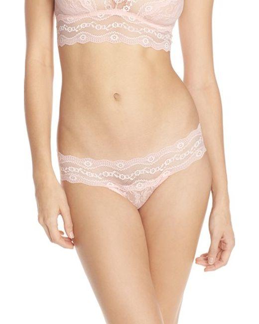 B.tempt'd | Pink 'lace Kiss' Bikini | Lyst