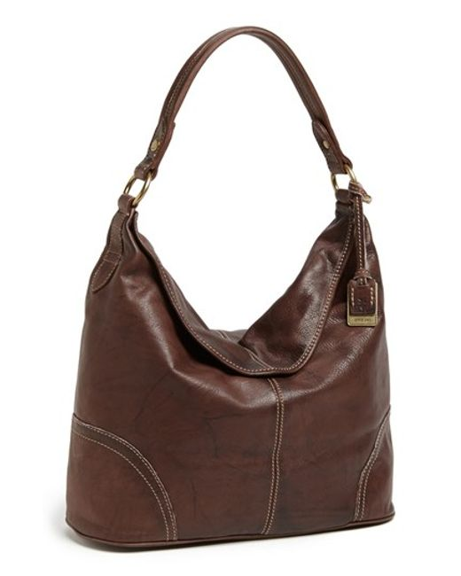 Frye | Brown 'campus' Leather Hobo | Lyst