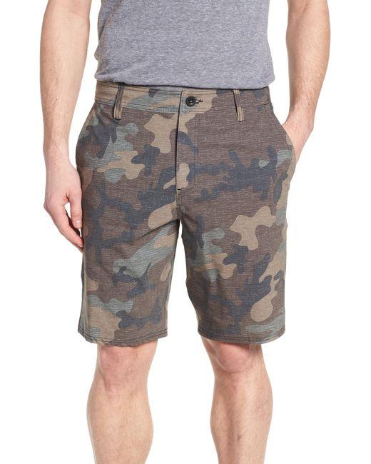 O'neill Sportswear - Gray Mixed Hybrid Shorts for Men - Lyst