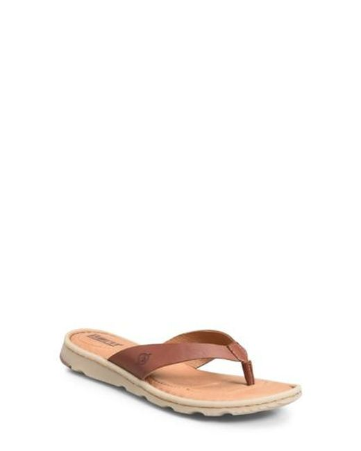 Born Tobago Thong Slide Sandals
