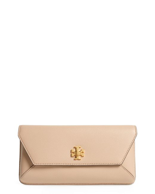 Tory Burch - Multicolor Kira Leather Envelope Clutch - Lyst