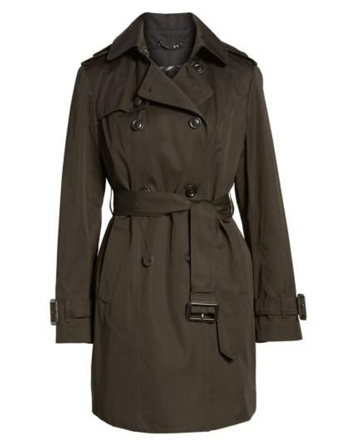 London Fog - Black Heritage Trench Coat With Detachable Liner - Lyst