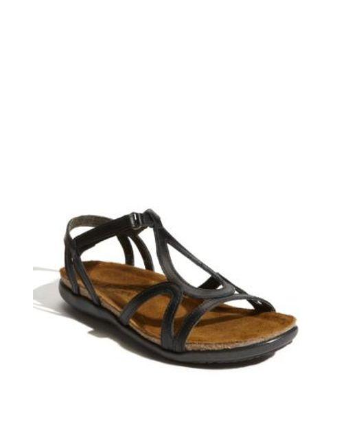 Naot - Black 'dorith' Sandal - Lyst