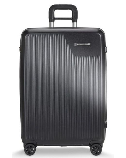 Briggs & Riley - Black 'sympatico' Expandable Wheeled Packing Case - Lyst
