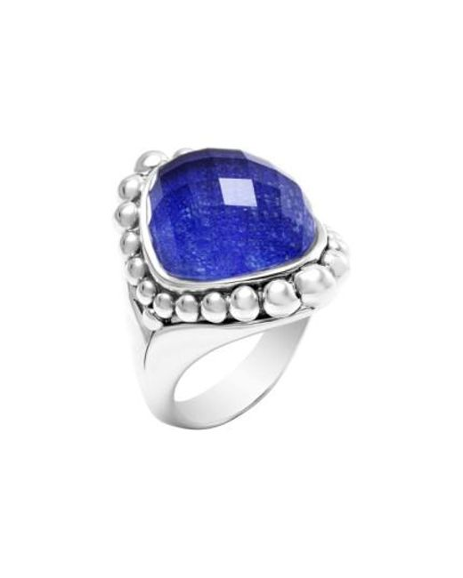 Lagos   Blue Maya Stone Ring   Lyst