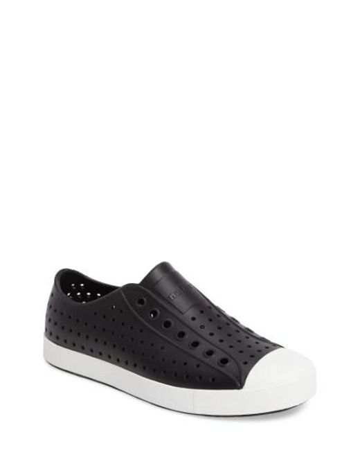 Native Shoes - Black Native Shoes 'jefferson' Slip-on for Men - Lyst