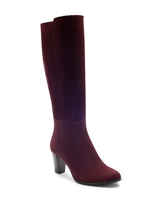 Blondo - Purple Edith Knee-high Waterproof Suede Boot - Lyst