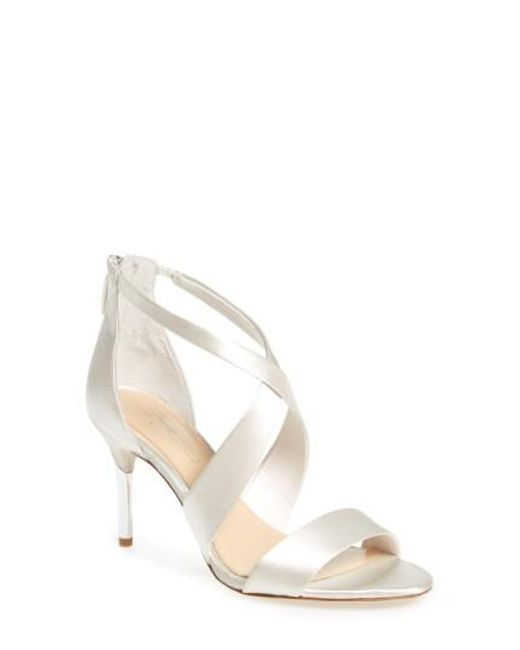 Imagine Vince Camuto | White 'pascal' Sandal | Lyst