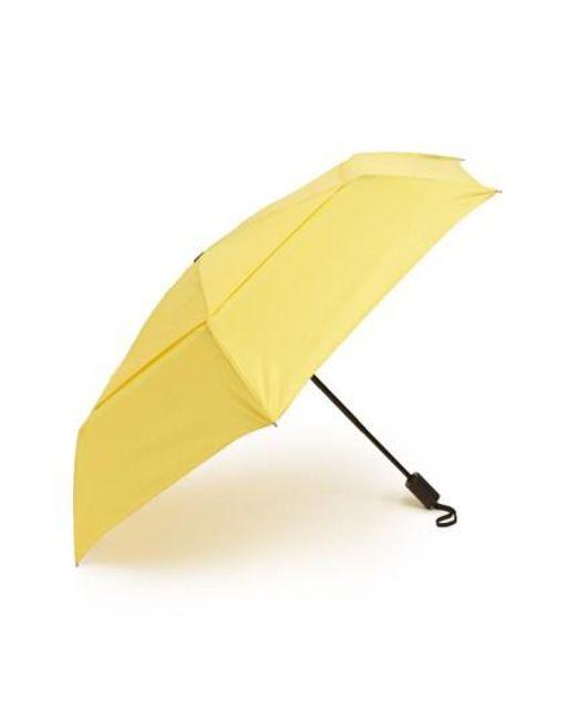 Shedrain | Yellow 'windpro' Auto Open & Close Umbrella | Lyst