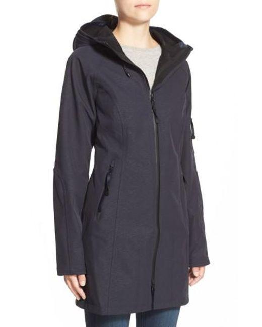 Ilse Jacobsen | Blue Regular Fit Hooded Raincoat | Lyst
