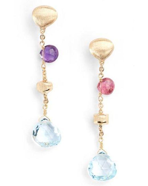 Marco Bicego - Metallic Paradise Semiprecious Stone Drop Earrings - Lyst