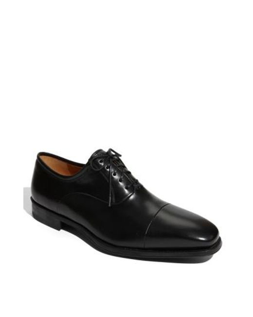 Magnanni Shoes - Black 'federico' Oxford for Men - Lyst