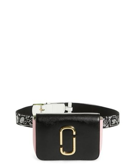 Marc Jacobs - Black Hip Shot Convertible Crossbody Bag - - Lyst