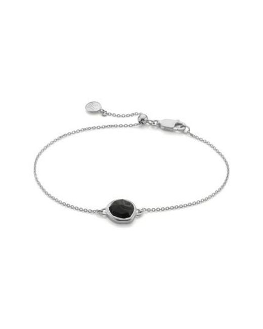 Monica Vinader - Metallic Siren Semiprecious Stone Bracelet - Lyst