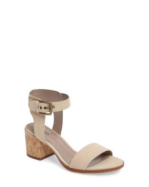 Hinge | Multicolor Dylan Block Heel Sandal | Lyst