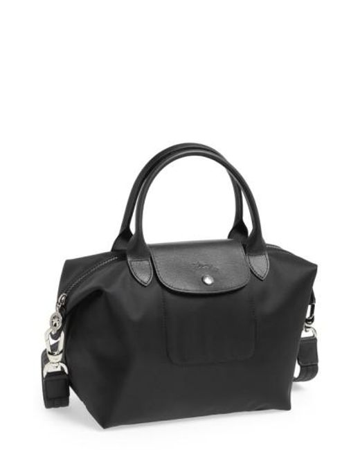 Longchamp | Black 'small Le Pliage Neo' Nylon Tote | Lyst
