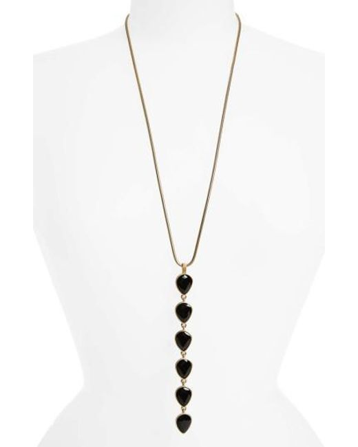 Loren Hope | Metallic Sydney Y-necklace | Lyst