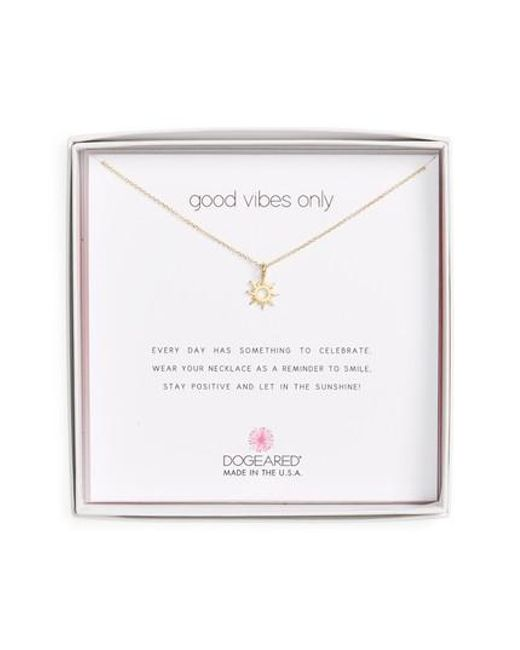 Dogeared - Metallic Good Vibes Only Pendant Necklace - Lyst