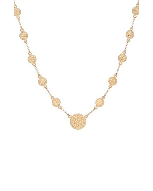 Anna Beck | Metallic 'gili' Station Necklace | Lyst