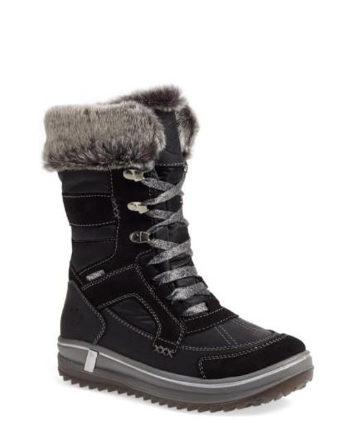 Santana Canada | Black Marta Water-Resistant Insulated Winter Boot | Lyst
