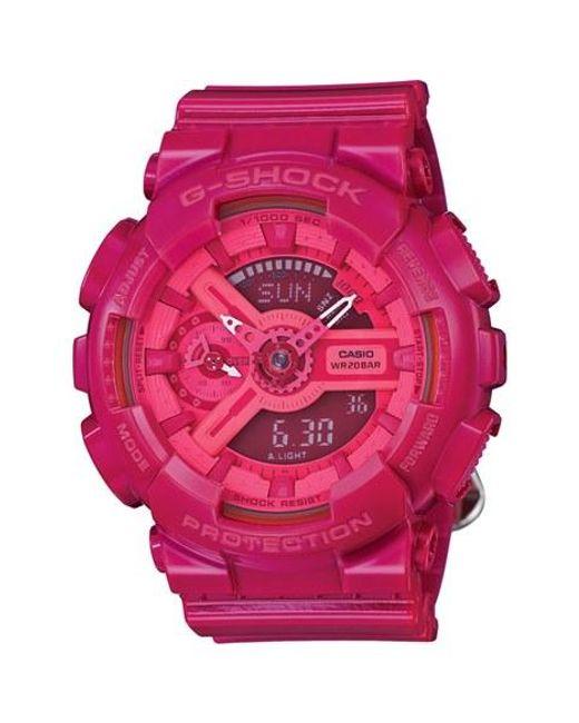 G-Shock | Pink Ana-digi Watch | Lyst