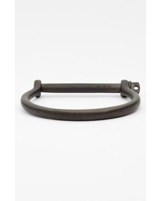 Miansai | Black 'noir' Screw Cuff Bracelet for Men | Lyst