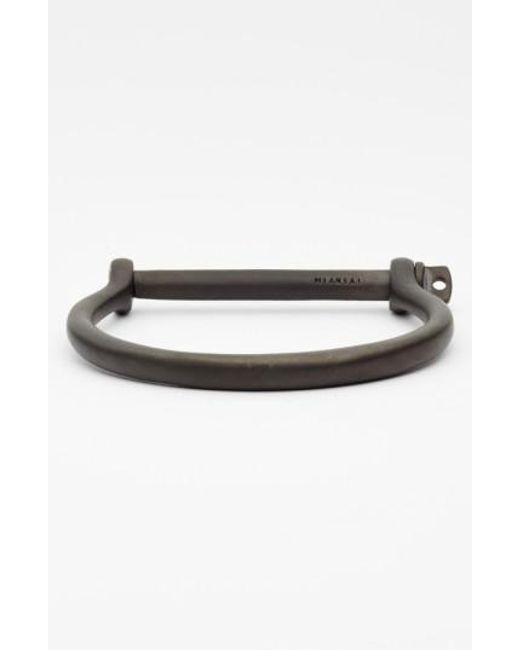 Miansai   Black 'noir' Screw Cuff Bracelet for Men   Lyst
