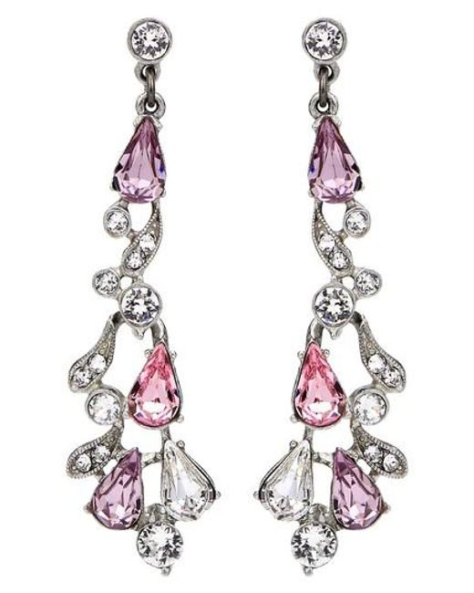 Ben-Amun - Pink Multicolor Round Pear Drop Earrings - Lyst