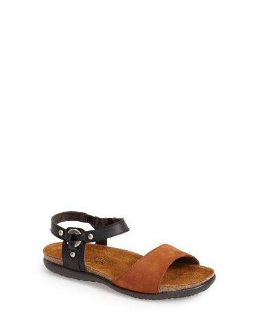 Naot - Black 'sabrina' Sandal - Lyst