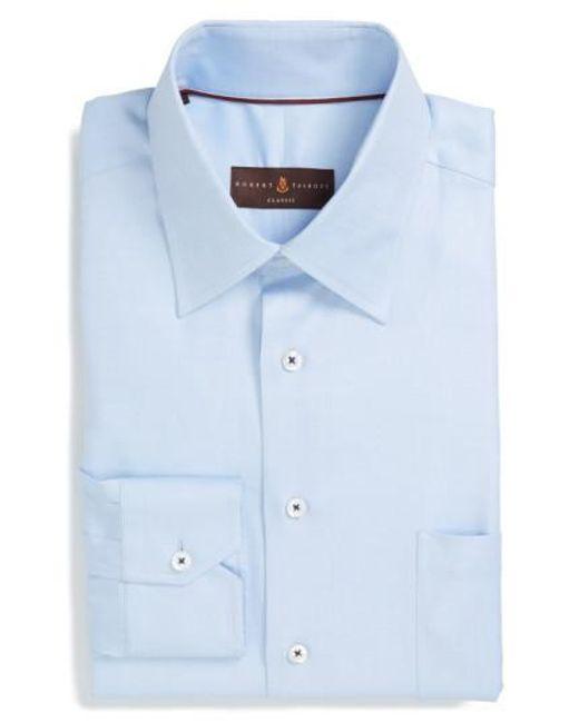 Robert Talbott | Blue Classic Fit Dress Shirt for Men | Lyst