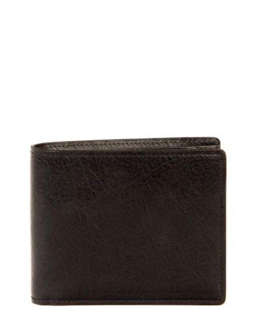 Boconi | Black 'becker' Rfid Leather Wallet for Men | Lyst