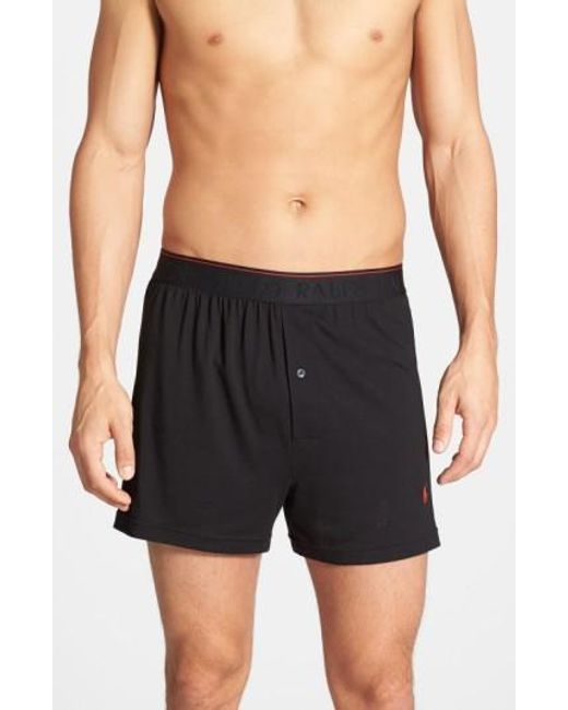 Polo Ralph Lauren | Supreme Comfort 2-pack Boxers, Black for Men | Lyst