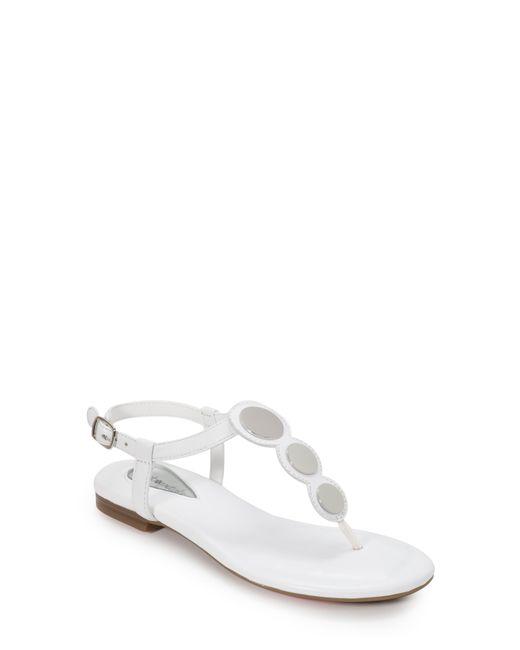 Foot Petals White Ellie Sandal