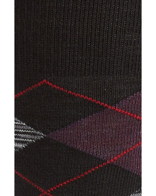 Smartwool Diamond Jim Argyle Socks in Black for Men - Lyst