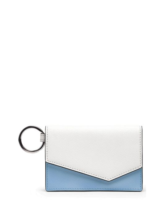 Botkier - White Cobble Hill Saffiano Leather Card Case - Lyst