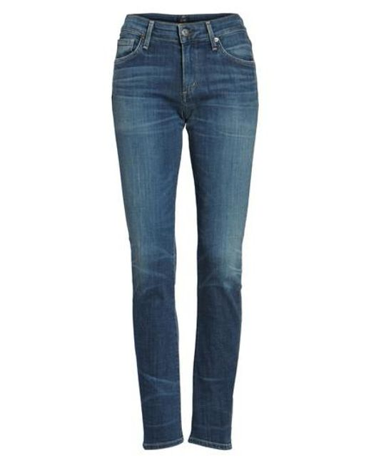 Citizens of Humanity - Blue Avedon Ultra Skinny Jeans - Lyst