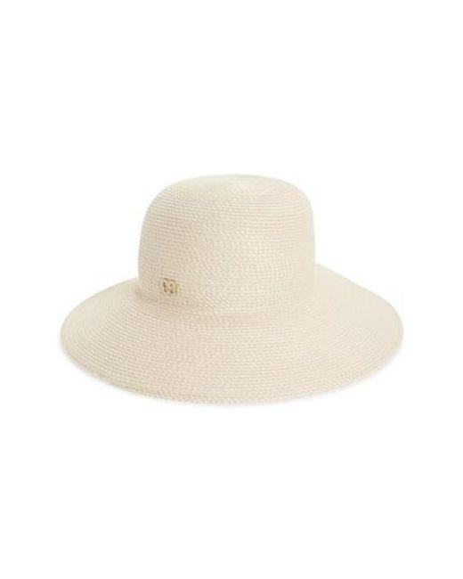 Eric Javits | Natural 'squishee Iv' Wide Brim Hat | Lyst