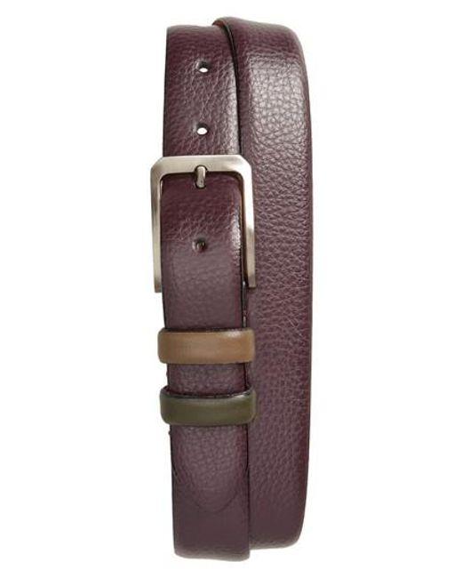 Ted Baker   Multicolor Shrubs Leather Belt for Men   Lyst