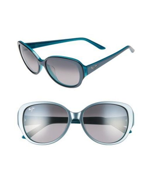 Maui Jim | Gray Swept Away 56mm Polarizedplus2 Sunglasses | Lyst
