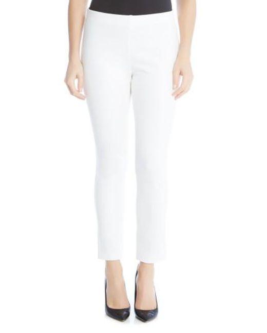 Karen Kane   White Piper Skinny Ankle Pants   Lyst