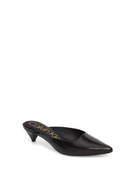 Calvin Klein Pointed toe mule
