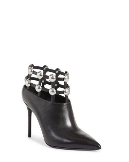Alexander Wang - Black Women's Tina Leather Shoe Boots - Lyst