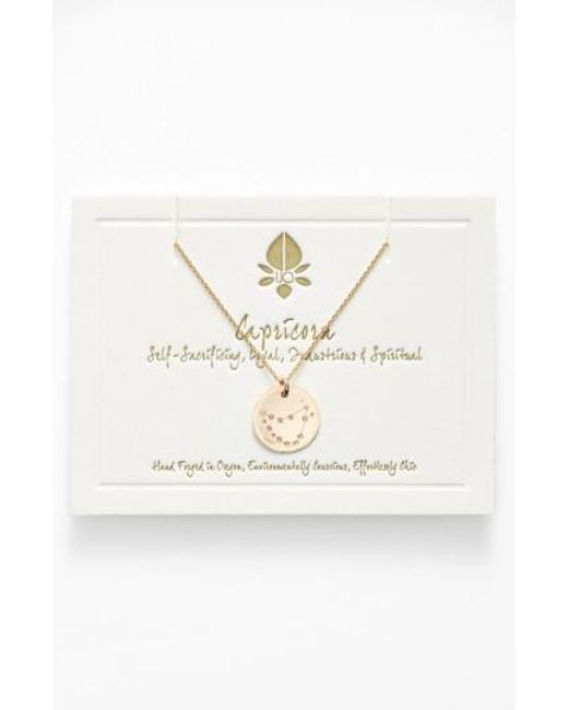 Nashelle | Metallic Ija 'small Zodiac' 14k-gold Fill Necklace | Lyst
